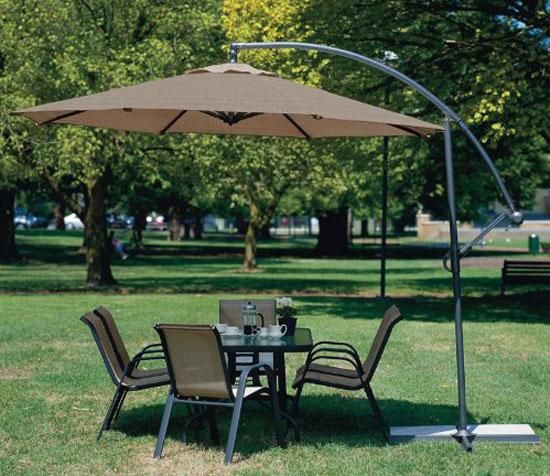 10 Feet Cantilever Freestanding Patio Umbrella
