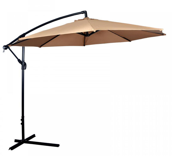 10 Feet Cantilever Freestanding Patio Umbrella