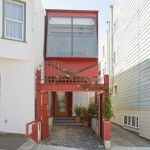 The 10-Feet Wide Contemporary Home In San Francisco, California Is Up For Sale