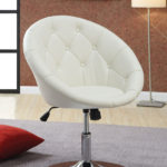 The 102583 Round Back Swivel Chair Will Complete Your Elegant Home Interior