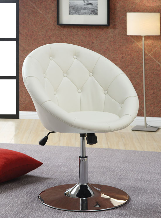 102583 Round Back Swivel Chair
