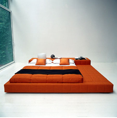 15 modern bed room decor to inspire you modern home decor - Japanese bed frame designs ...