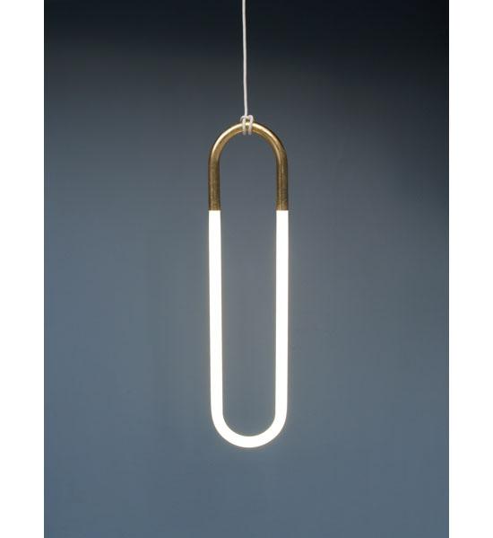 24K Hanging Pendant Light