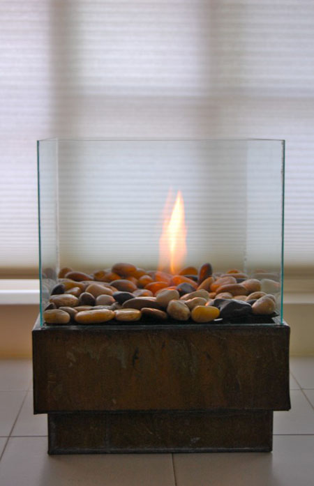 diy fire pit personal and cheap modern home decor