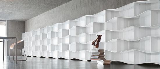 ONDA Modular Bookcase System