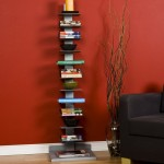 Have Your Books Parts Of Your Interiors And Place Them On The SEI Metal Spine-Style Book Tower