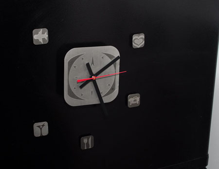 AboutFace Clock