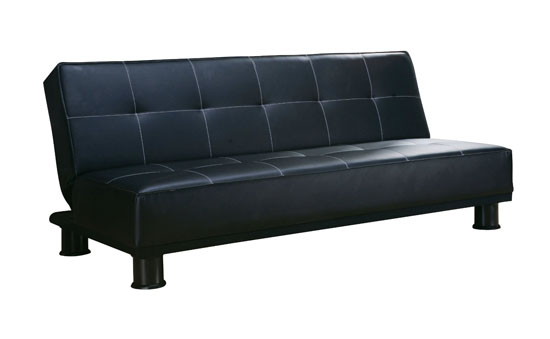 ACME 05998 Black Pu Adjustable Sofa