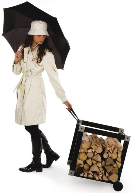 Ak47 Stylish Firewood Holder