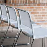 Aline 230/2 Skid Base Chair from Wilkhahn