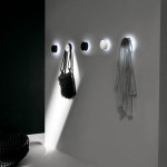 Alone, A Coat Hook That Casts An Eye At The Concept of A Wall Light