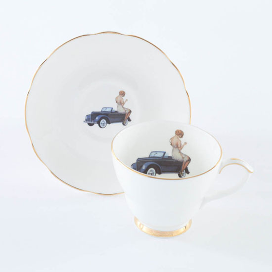 Always an Adventure Teacup and Saucer Set