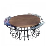 Relax While Reading Your Favorite Magazine Article While Having Coffee With The Amarant Coffee Table