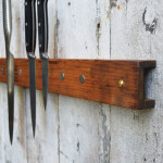Reduce Waste And Keep Your Kitchen Blades At Its Proper Place With Antique Organ Pipe Knife Holder