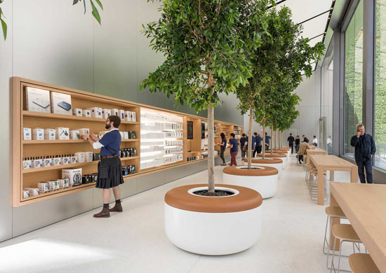 Apple Union Square Store by Foster and Partners