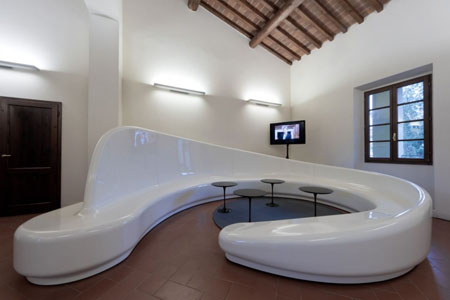 Archetto Seating's Curves And Glossy Finish Will Keep You Sitting ...
