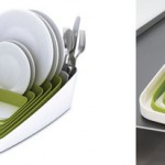Get A Playful Kitchen Tool AS Your Place Your Utensils On The Arena Dish Rack