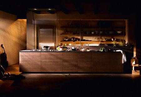 Artematica Noce Tattile Kitchen