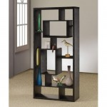 Enjoy A Decor And Shelf In One With An Asymmetrical Cube Bookcase With Shelves