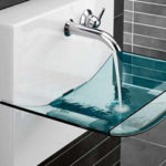 Where Glass Meets Ceramics : Bathroom Sink Basins from Villeroy and Boch