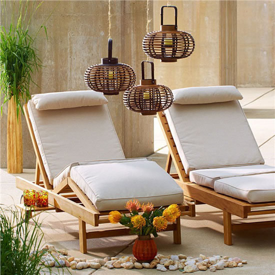Top 20 Christmas Gift Ideas for Modern Homes - Bambeco Round Bamboo Lantern for Outdoor Use