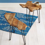 Showcase Your State Proud Through Barnwood State Side Tables