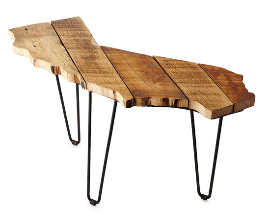 Barnwood State Side Tables by Garwood Linton