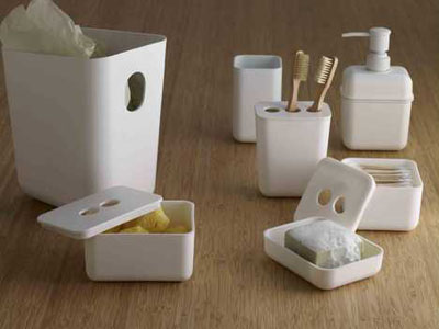 Bathroom products made from biodegradable plastic modern for In home decor products
