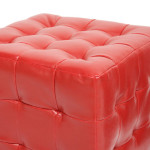 Create A Strong And Elegant Ambiance To Your Home With Baxton Studio Siskal Modern Cube Ottoman