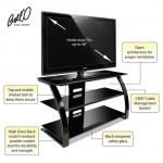 Place Your TV In A Stylish Rack Using The Bell O PVS4204HG Audio Video Furniture