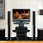 BellO FP9830 Flat Panel Plasma Or LCD Audio Video System Will Hold You TV And Audio System In Style