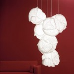 Belux Cloud Pendant Lamp Looks Like One Whole Cabbage
