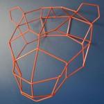 Polar Mama Bear Geometric Trophy Head Is A Simple Or Complex Home Décor