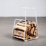 Keep Your Firewood In Order With Thomas Bernstrand's Stylish Wood Basket