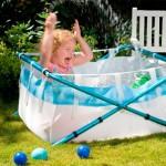 BibaBath : Turning Your Shower Into Baby Bath Tub