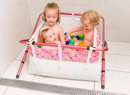 BibaBath : Turning Your Shower Into Baby Bath Tub | Modern Home Decor