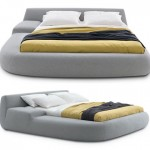 Poliform's Big Bed: Gives You A Comfortable Goodnight Sleep And An Elegant Bedroom Interiors