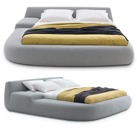 Poliform S Big Bed Gives You A Comfortable Goodnight