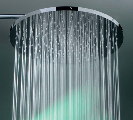 big rain shower head from fornara maulini