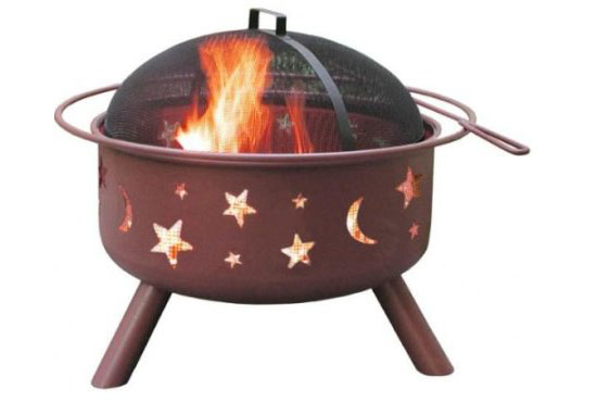 Big Sky Stars And Moons Fire Pit