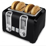 Enjoy Your Toasted Bread With Black & Decker's Elegant Slice Toaster