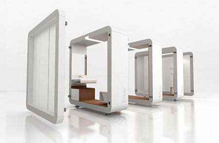 Box Modular Bathroom