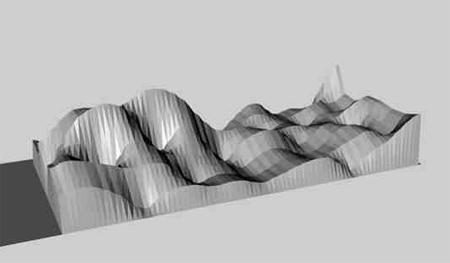 Brain Wave Sofa