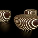 Bright Wood's Collection Of Illuminated Chairs And Tables: Will Decorate And Illuminate Your Home Interiors