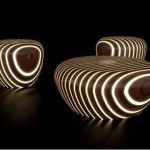 Bright Woods: A Glow In The Dark Furniture Set
