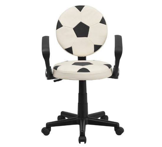 BT-6177-SOC-A-GG Soccer Task Chair With Arms
