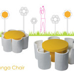 Bunga (Flower) Chair Is Looking Good in The Park