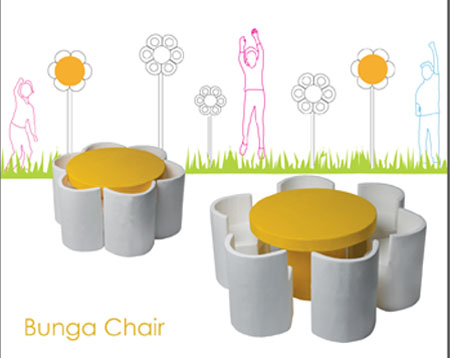 bunga chair