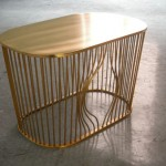 Bye Bye Bird: A Classic Wire Furniture Inspired Coffee Table With A Twist