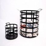 Cage Steel Baskets: Holds Your Items In Style